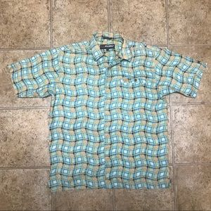Vintage FUBU Casual Button Down Shirt size L